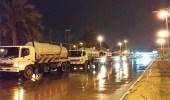 هطول أمطار رعدية مصحوبة برياح نشطة على الشرقية