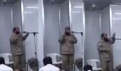 بالفيديو.. ضابط سعودي للجيش الكويتي: نحبكم في الله يا أهل الكويت