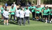 بالفيديو.. بيتزي يقسم تدريبات الأخضر لفترتين في ماربيا