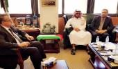 السفير الفلسطيني في السعودية يستقبل وفداً إعلامياً عربياً