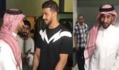 بالفيديو.. سامي الجابر يصل مقر الهلال
