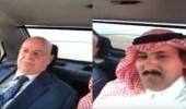 """بالفيديو.. الرئيس اليمني يشيد بـ """" درع الخليج 1 """""""
