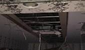 مدني سكاكا يخلي أحد المجمعات التجارية احترازياً جراء سقوط سقف مستعار