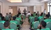 بالصور.. الأخضر يواصل تدريباته الصباحية والمسائية في ماربيا