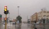 بالفيديو.. شباب ينظمون عملية السير أثناء هطول الأمطار ببريدة