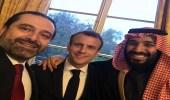 الحريري عن صورة تجمعه بولي العهد والرئيس الفرنسي: لا تعليق