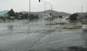 استمرار هطول أمطار رعدية مصحوبة بزخات برد على مكة والطائف