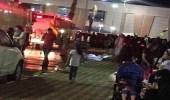 سقوط سقف محل تجاري في سكاكا وإخلاء تام للمجمع