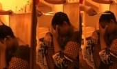 بالفيديو.. سيدة تقص شعر خادمتها عقابا لها