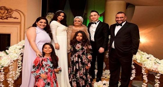 أول صور رسمية لشيرين عبدالوهاب من حفل زفافها