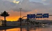 استمرار هطول أمطار رعدية مصحوبة برياح تعيق الرؤية على حائل