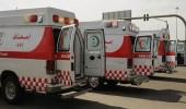 8 إصابات في حادث تصادم على طريق الحرة