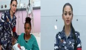 بالفيديو.. رد فعل صادم لامرأة سقط مولودها بمرحاض مطار بيروت