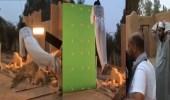"""بالفيديو..مشهد صعب في  """"  بدون فلتر  """"  يعرض ممثلة للخطر"""