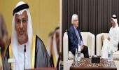 """بعد لقائه """" الزبيدي """" .. قرقاش: متفائلون بمهمة """" مارتن غريفيث """" في اليمن"""