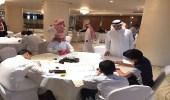 """60 طالبا من 18 إدارة تعليمية في منافسات المشروع الوزاري """" الخط العربي والزخرفة الإسلامية """""""