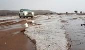 بالفيديو.. أمطار غزيرة على الشفا بمحافظة الرين