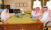 بالصور.. الأمير فيصل بن بندر يستقبل أمين لجنة شباب الرياض