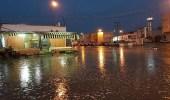 بالصور.. أمطار على وادي الدواسر