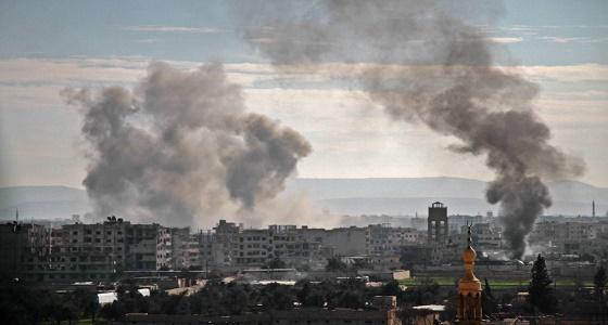 """بعد تصاعد الأدخنة.. """" ترامب """" يعلن توجيه ضربة لسوريا"""