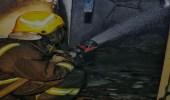 """إصابة 6 أشخاص بالاختناق إثر حريق نشب بـ """" غرفة نوم """" في الطائف"""