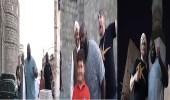 بالفيديو.. جولة لنجوم مصارعة المحترفين بمنطقة جدة التاريخية