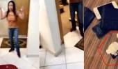 بالفيديو.. خادمة تهدد مكفولتها بقتل طفلها بالسكين