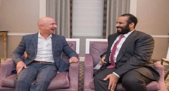 """وظائف في التجارة الإلكترونية للسعوديين عقب لقاء ولي العهد مع رئيس """" أمازون """""""