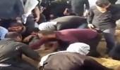 الأحوازيون يدفنون جثث ضحايا محرقة مقهى حي الثورة..وسط تجاهل إعلامي