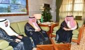 الأمير فيصل بن بندر يستقبل أعضاء مجلس إدارة شركة الرياض للتعمير