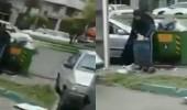 بالفيديو.. فساد الملالي يدمر الشعب.. إيرانية تبحث عن طعام بالنفايات