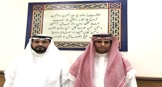 """شاب سعودي يتحدى """" التوحد """" ويحفظ القرآن الكريم"""