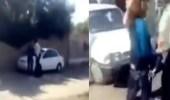 بالفيديو.. الأمن الإيراني يعتدي على فتاة بعد خلعها الحجاب