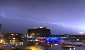 أمطار غزيرة بالشرقية تشمل مقر انعقاد القمة العربية