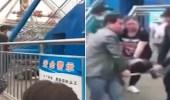 بالفيديو.. لحظة وفاة رجل إثر سقوطه من لعبة ملاهي