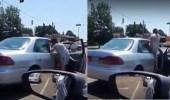 بالفيديو.. نهاية مروعة لسيدة اعتدت على رجل بالضرب المبرح داخل سيارته
