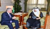 أمير الرياض يستقبل سفير جمهورية أذربيجان لدى المملكة