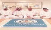 """"""" آل الشيخ """" يهنئ منصور بن زايد بفوز مانشستر سيتي"""