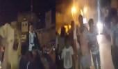 بالفيديو.. لحظة إصابة شاب برصاصة في الرأس بحفل زفاف