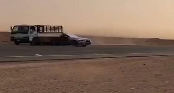 """بالصور.. مرور الرياض يقبض على مفحط """" ملهم """""""