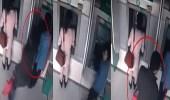 بالفيديو.. لص يلجأ لحيلة بسيطة لسرقة سيدة أمام صراف آلي