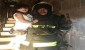 حريق بشقة ببلجرشي يسكنها 7 أشخاص.. والمدني يباشر