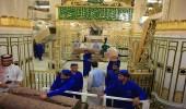 بالصور.. رئاسة المسجد النبوي تهيئ الروضة الشريفة لاستقبال رمضان