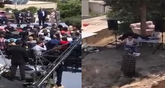 بالفيديو.. سيدة فلسطينية تقاوم الاحتلال الصهيوني بالقرآن