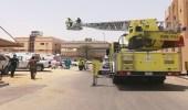 بالصور.. مدني الأحساء ينقذ 3 أطفال من حريق في مبنى سكني