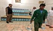 ضبط مستودعًا مخالفًا لتخزين مياة زمزم بالمدينة المنورة