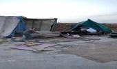 بالصور.. إزالة 76 خيمة مخالفة و57 حظيرة مواشي بالرياض