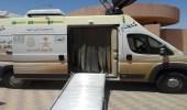 """"""" التنمية الاجتماعية """" بوادي فاطمة يختتم استضافة العربة المتنقلة للاحوال المدنية لمحافظة الجموم"""