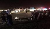 حادث شنيع يخلف وفاه وإصابتين بملف الدقن بالمخواه