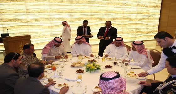 سفارة المملكة في الأردن تحتفل بالوفود المشاركة في مؤتمر سوفكس